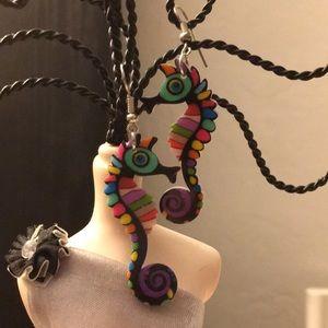 Jewelry - RAINBOW 🌈 SEAHORSE 🌊 EARRINGS
